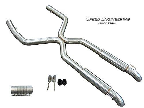 LS1 LS6 Camaro Firebird True Dual Exhaust (Axle Dump) (True Dual Exhaust)