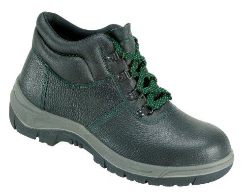 """FELDTMANN® Zapato de seguridad """"Wismar Botas de trabajo resistente con tapa de acero 33141 negro"""
