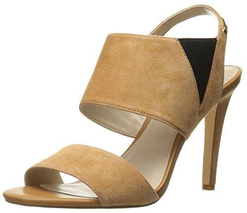 Calvin Klein Women Safari Dress Sandal Almond Tan