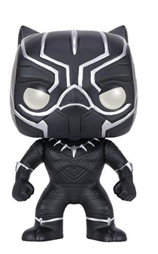 Funko POP Marvel: Captain America 3: Civil War Action Figure – Black Panther