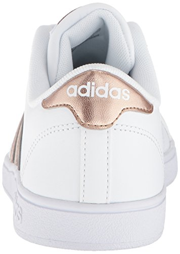 sale retailer 9bc36 dc385 Amazon.com  adidas Originals Unisex-Kids Baseline Sneaker, WhiteCopper  MetallicBlack, 4.5 M US Big Kid  Sneakers