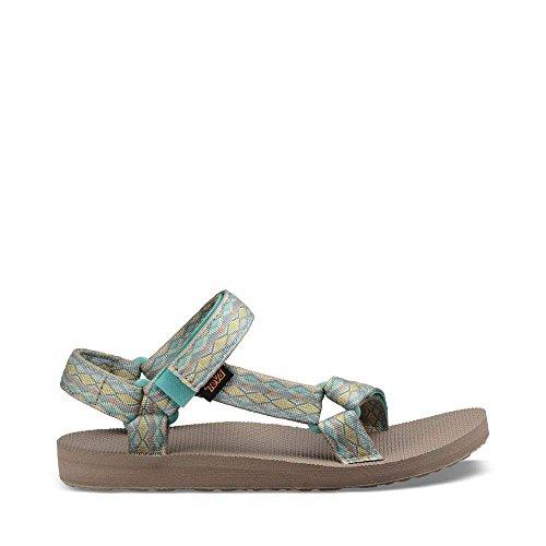 Teva Women's W Original Universal Sport Sandal, Miramar Fade Sage Multi, 8 M US by Teva
