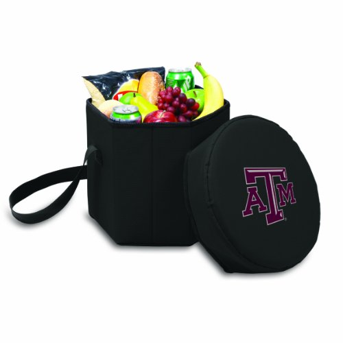 (NCAA Texas A & M Aggies Bongo Insulated Collapsible Cooler, Black)