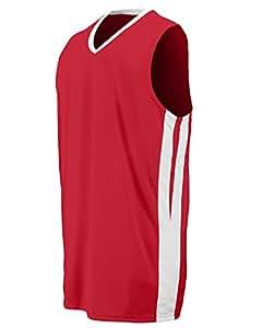 Augusta Sportswear Men'S Triple Double Game Jersey L Red/White