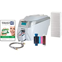 Magicard Rio Pro Single-Side ID Card Printer and Supplies Package