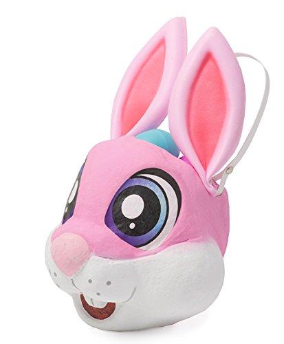 Basket Pinata Easter Egg Hunt Bunny Pink 13