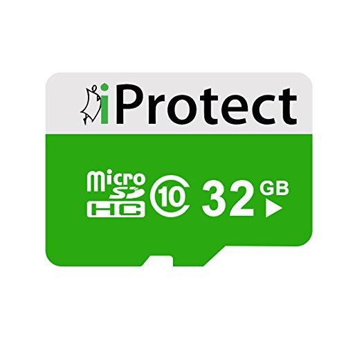14 opinioni per Memory Card Micro SD iProtect da 32 GB- Scheda di Memoria di Classe 10