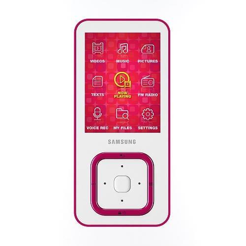 Samsung Q3 4GB MP3 Player - Pink (Radio Lcd Samsung)