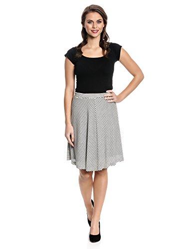 Vive Maria Capri Skirt Rock creme/schwarz