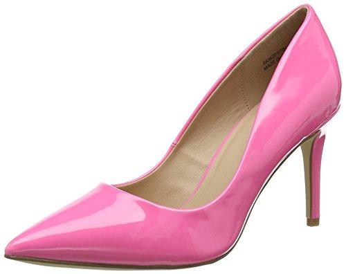 New Look WoMen Knocked Closed Toe Heels Pink (Bright Pink 76)