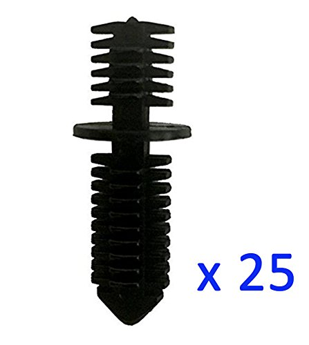 Kalanution 25 Double End Xmas Tree Retainers Clips 11/32