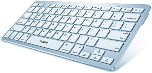 Black Support Windows 10//8//7//Vista//XP VicTsing Spill-Resistant Wired Keyboard Computer USB Keyboard with 5 Feet USB Cable and Foldable Stands Mac Linux