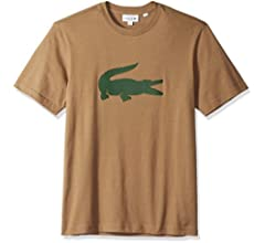 7d9dc5fa08 Men's Short Sleeve Jersey with Big Tonal Croc Printed T-Shirt, TH9428