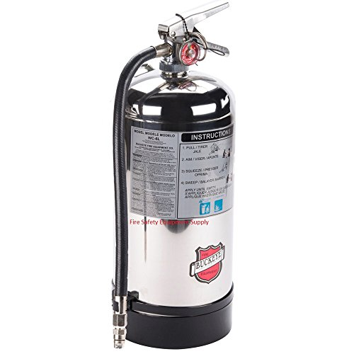 (50006 Buckeye Wet Chemical 6 Liter Class K Fire Extinguisher)