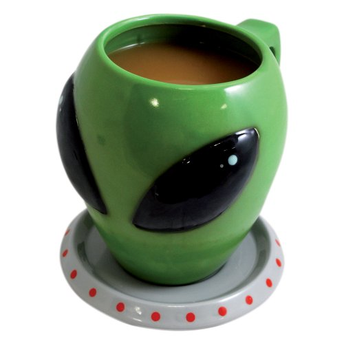 Alien Cup and Saucer Mug