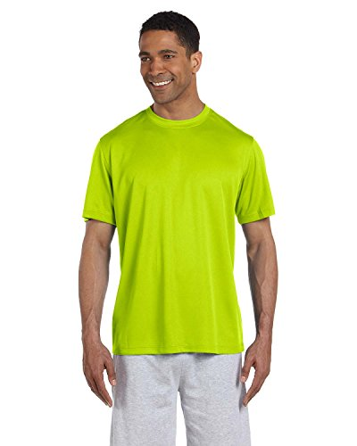 New Balance Herren ndurance Athletic T-Shirt Grün (Safety Green)