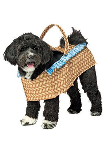 Doggie in a Basket Dog Costume - M/L -