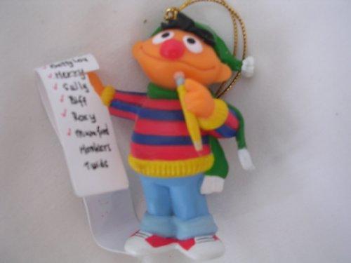 Sesame Street Ernie Christmas Ornament