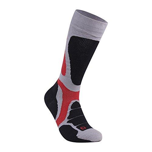 Blend Ski Socks - Over the Calf Extra Cushion Socks, ZEALWOOD Valentines Gift Outdoor Socks Warm Winter Climbing Socks,Warm Board Socks, Ski Socks for Men and Women,Mountaineering Socks,Merino Wool Boot Socks