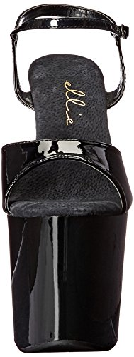 Women's 821 Shoes Ellie Platform Sandal Juliet Black gqzH8f