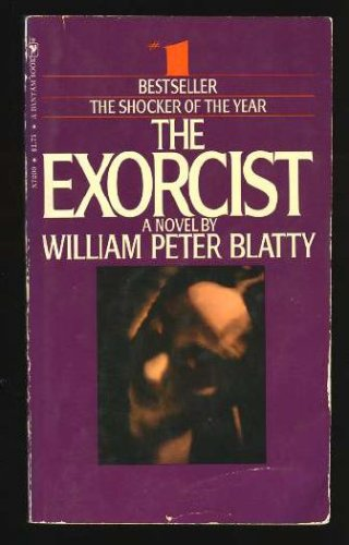 Book cover from The Exorcist by William Peter Blatty