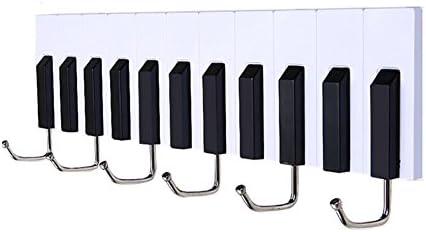 ZEMIN コートラック ウォールコートラック服ハットハンガーホルダーフックプラスチックホームスタイル、白、28.5x5x6.5CM (色 : 白, サイズ さいず : 9 pieces)