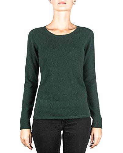 Cash Scuro Cachemire xs Verde xxl Girocollo mere Pullover Da A Sweater Maglione Donna ch 100 ZvZPwFr6Wq