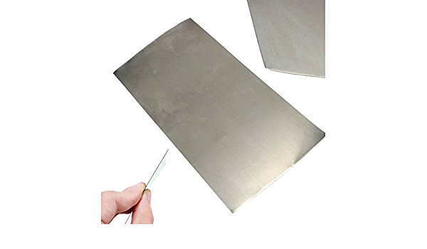1-5mm thick High Purity Nickel Sheet Ni Foil Plate Electroplating Metal Industry