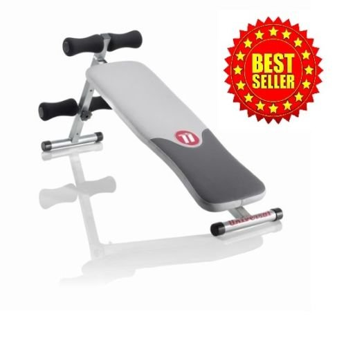 Abdominal+Machine Products : Fitness Exercise Crunch Gym Workout Abdominal Home Machine Abs Bench Equipment