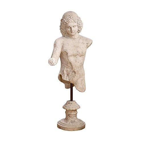 Design Toscano Torso of Hermes Life-Size (Fiberglass Resin Sculpture)