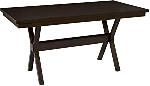 Progressive Furniture Trusses Dining Table, Brown