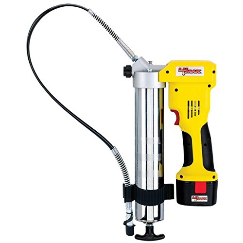 Lumax LX-1176 Handyluber 12V Cordless Grease Gun with 2 Batteries, 7000 Psi by Lumax