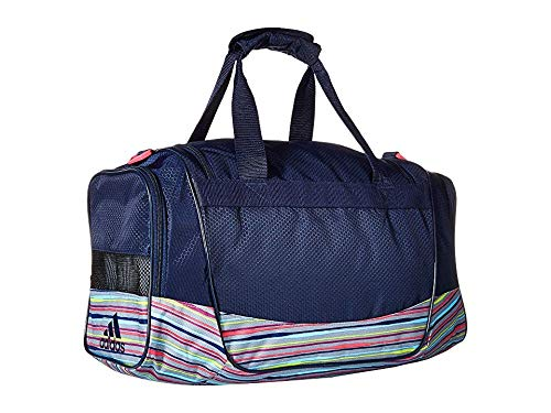 adidas Unisex Defender III Small Duffel Collegiate Navy/Shock Pink Andreas/Shock Pink One Size
