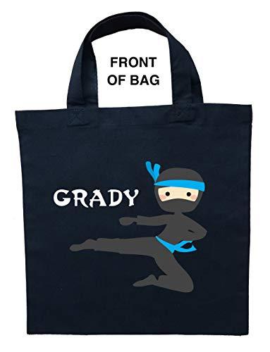 Ninja Trick or Treat Bag, Personalized Ninja Halloween Bag, Ninja Loot Bag by Custom Designs by Cycam