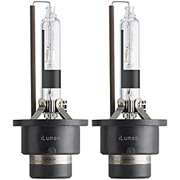 D2R Projector HID Xenon Headlight Replacement Bulb for High Low Beam 6000K Diamond White Pack of 2