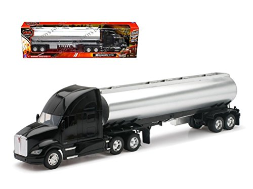 NEW 1:32 NEWRAY TRUCK & TRAILER COLLECTION - KENWORTH T700 OIL TANKER Diecast Model By NEW RAY - Tanker Metal Oil
