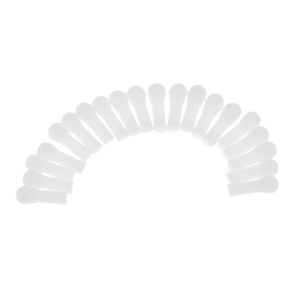 B Blesiya 20 Piezas Varilla de Plástico para Clarinete Instrumento de Tubo para Principiantes Producción Instrumentos Musicales