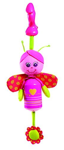 Tiny Love Smarts Wind Chime Clip on Toy, Baby Butterfly