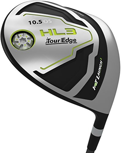Tour Edge HKWRGR01105D Men's HL3 Driver, Right Hand, Regular, Graphite, 10.5 Degree