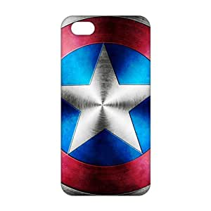 Evil-Store Captain America 3D Phone Case for iPhone 5s