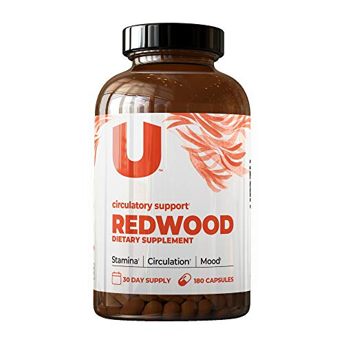 UMZU: Redwood, Nitric Oxide Booster Capsules – 30 Day Supply – Organic N.O. Supplement for Circulatory Support, Increased Stamina, Energy, and Improved Mood