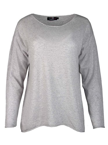 Zwillingsherz - Jersey - para mujer gris