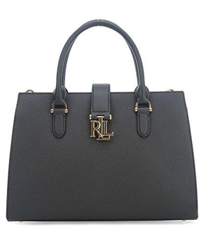 Ralph Lauren Borsa A Mano Donna 431656180001 Pelle Nero