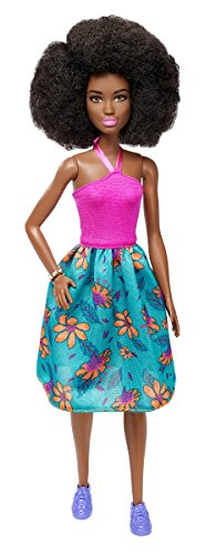 Barbie Fashionistas 59 Pink Halter Floral Skirt Doll -
