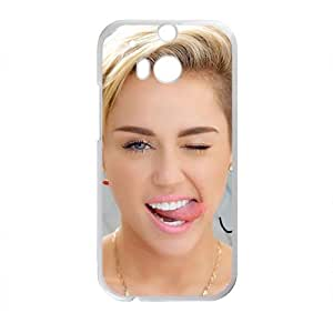 Happy Beautiful outgoing Shining girl Cell Phone Case for HTC One M8