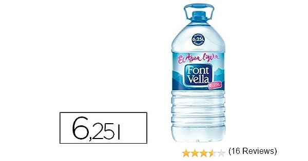 Font Vella - Agua Botella 6 25 Litros Caja 3 Botellas: Amazon.es: Alimentación y bebidas