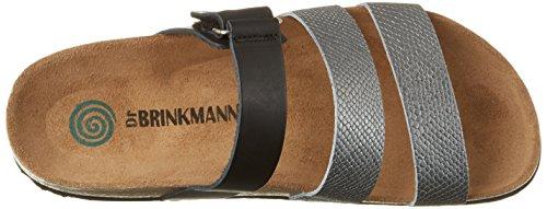 Dr. Brinkmann 701000 - Mules Mujer plateado (plateado)