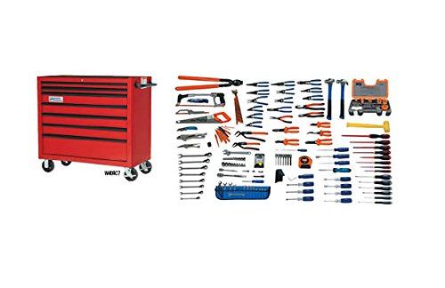 JH Williams WSC-167TB 167-Piece Electrical Maintenance Service Set