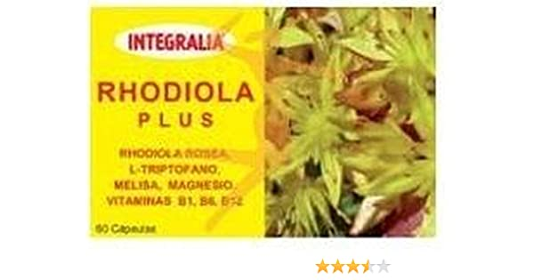 Rhodiola Plus 60 cápsulas de Integralia: Amazon.es: Salud y ...