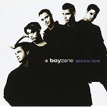 Boyzone - Said And Done - Polydor - 527 801.2